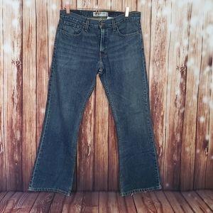 Levis Jeans Low Bootcut 527 W 33 L 30